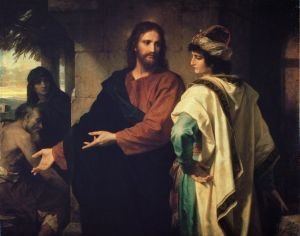 Christ and the Rich Young Ruler Heinrich Hoffman