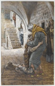The Return of the Prodigal Son James Tissot