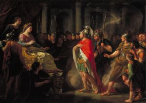The Meeting of Dido and Aeneas Sir Nicholas Dance-Holland