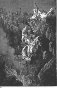 Death of Korah, Dathan, and Abiram Gustave Doré