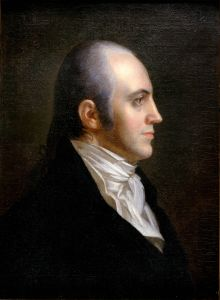 Aaron Burr, 3rd Vice President of the United States, by John Vanderlyn.