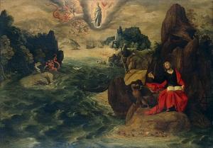 St. John the Evangelist at Patmos Tobias Verhaecht
