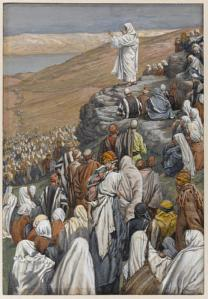 In the Sermon on the Mount (Matthew 5:1-7:29), Yeshua affirmed the eternal nature of the Law (Torah) and explained how YHVH intends His people to live it out day by day. (James Tissot, The Sermon on the Mount, Brooklyn Museum)