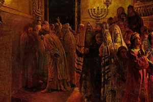 The highest court in Israel, with jurisdiction over both legal and spiritual matters, was the Sanhedrin. The testimony of Scripture and of history indicates this court did not always act according to the standards of righteousness established in Torah. (Nikolai Ge, The Judgment of the Sanhedrin -He is Guilty!)