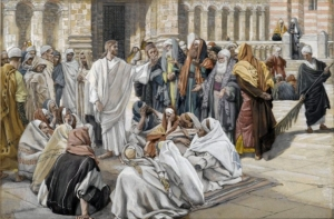 The Pharisees Question Jesus James Tissot