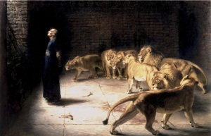 Daniel's understanding of YHVH's times and seasons helped him move in the rhythm of those times and make a powerful impact on his world. (Briton Rivière, Daniel's Answer to the King, Manchester Art Gallery via Wikimedia Commons)
