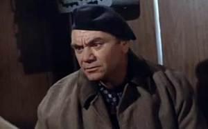 Ernest Borgnine as Boris Vaslov, the Russian double agent in the Cold War espionage drama Ice Station Zebra. (Photo: The Movie Scene)