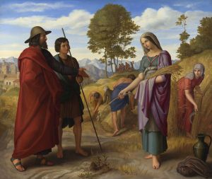 Ruth in the Field of Boaz Julius Schnorr von Carolsfeld