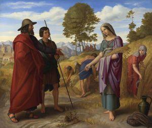Ruth in the Field of Boaz Julius Schnorr von Carolsfeld