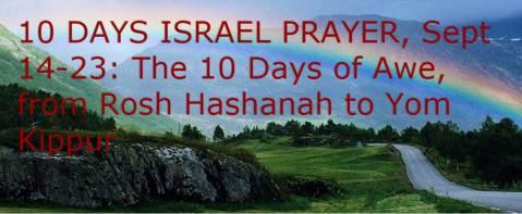 BFB150902 10 Days Israel Prayer