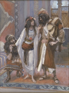 The Harlot of Jericho and the Two Spies James Tissot