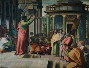St. Paul Preaching in Athens Raphael