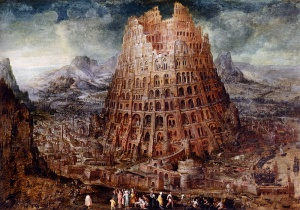 Tower of Babel Marten van Valckenborch