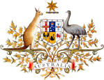 BFB151014 Australia Coat of Arms