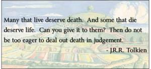 BFB151031 Tolkien - Quote