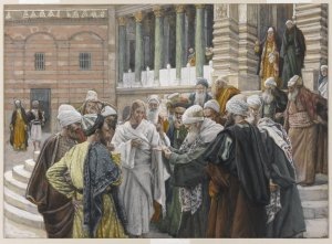 The Tribute Money James Tissot