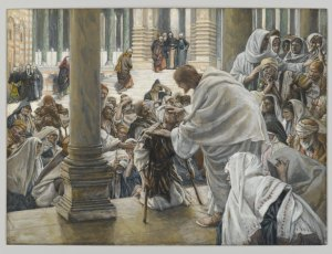 He Heals the Lame James Tissot