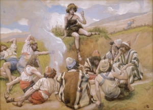 Joseph Reveals His Dream to His Brethren James Tissot