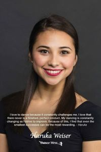Haruka Weiser, 1997-2016. (Photo: Blaine Truitt Covert / Dance West, via CNN.com)