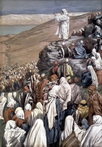 The Sermon of the Beatitudes James Tissot
