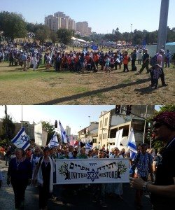 The 37th Annual Parade of Nations in Jerusalem on October 22, 2016, featured a tangible outpouring of love for Israel by thousands of foreigners from many nations. Some, like those who marched behind the United 2 Restore banner, believe these thousands from Christian traditions are returning Israelites from the House of Joseph/Ephraim, but regardless of doctrinal belief, all seek greater connection with the Jewish people and the State of Israel.