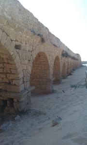 The Roman accused the at Caesarea.
