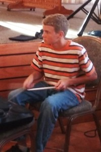 Drummer Silas Rambo, age 14, adds a generational component to the multinational worship team from South Africa, the Netherlands, Switzerland, and the United States.
