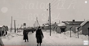 The Stalag IXA POW camp near Ziegenhain, Germany where Edmonds and his soldiers were held (AIPAC video screenshot)