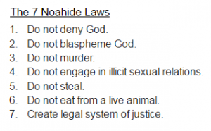 The Noahide Laws