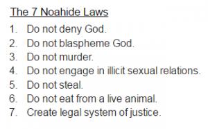 The Noahide Laws