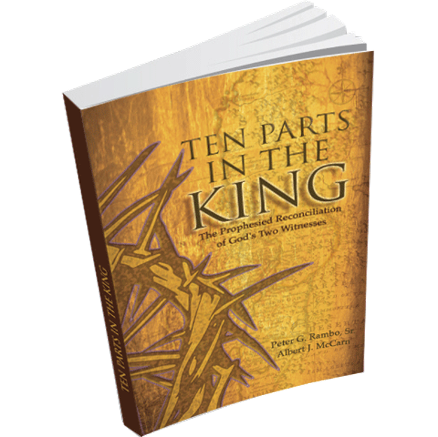 TEN PARTS IN THE KING: THE PROPHESIED RECONCILIATION OF GOD'S TWO WITNESSES Ten Parts in the King offers an explanation for the Torah Awakening among Christians, linking it to the prophecies of Israel's restoration.