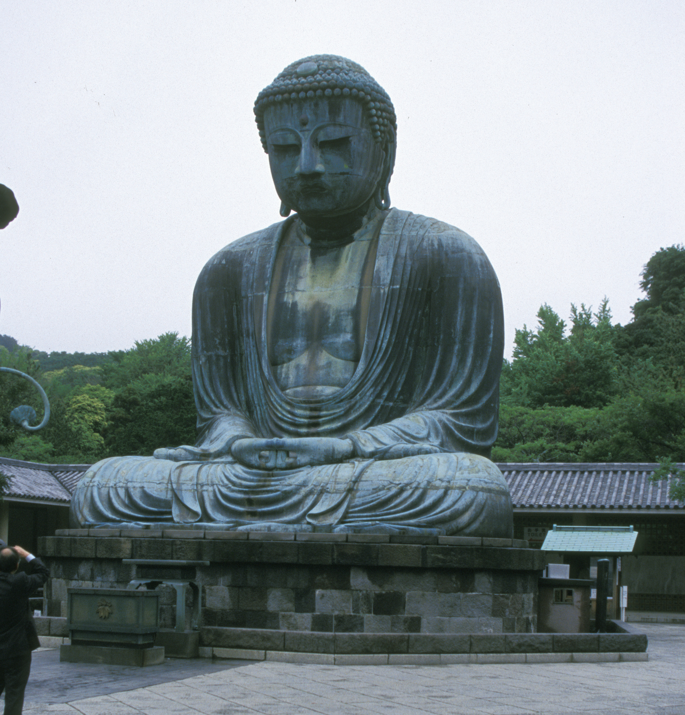 Great Buddha (Daibutsu) at Kamakura, Japan