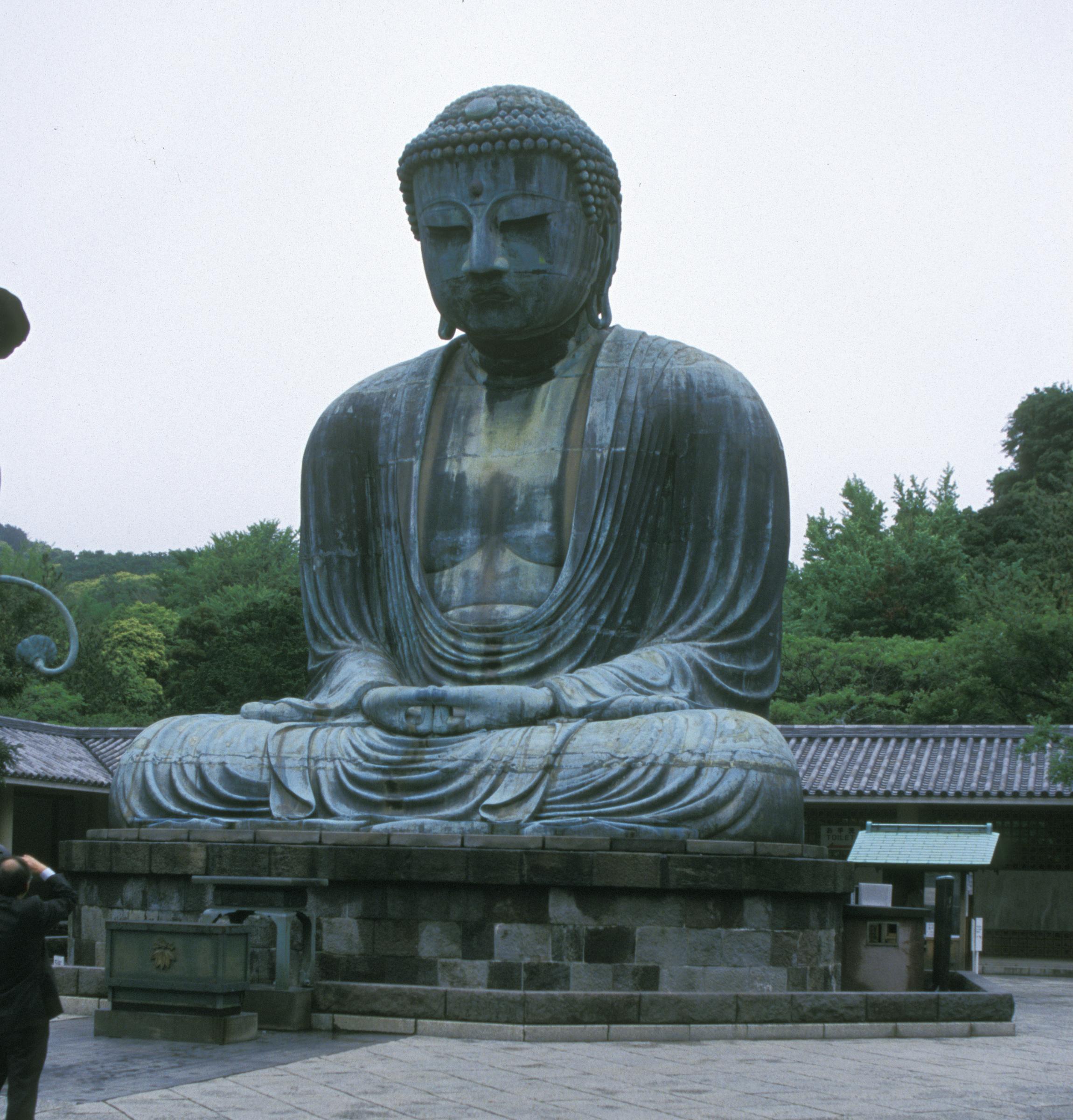 Great Buddha (Daibutsu) at Kamakura, Japan