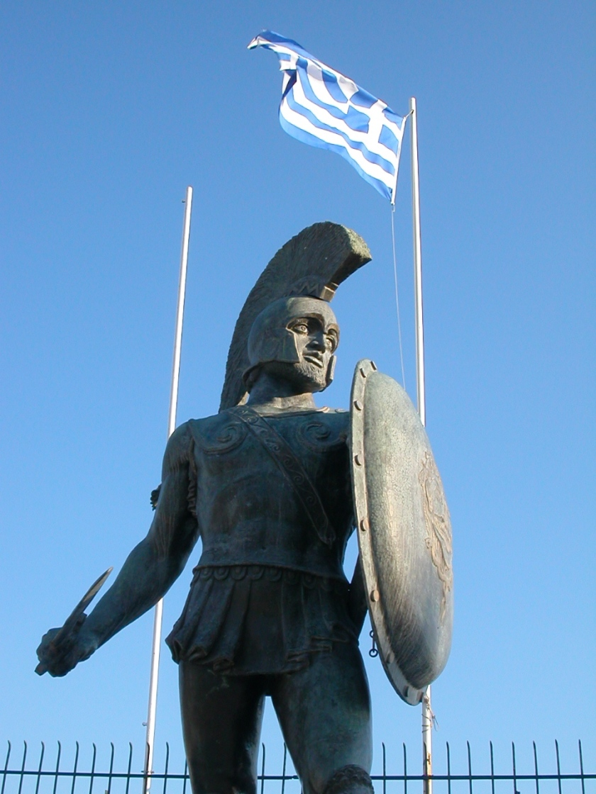 BFB210411 King Leonidas Statue 1968
