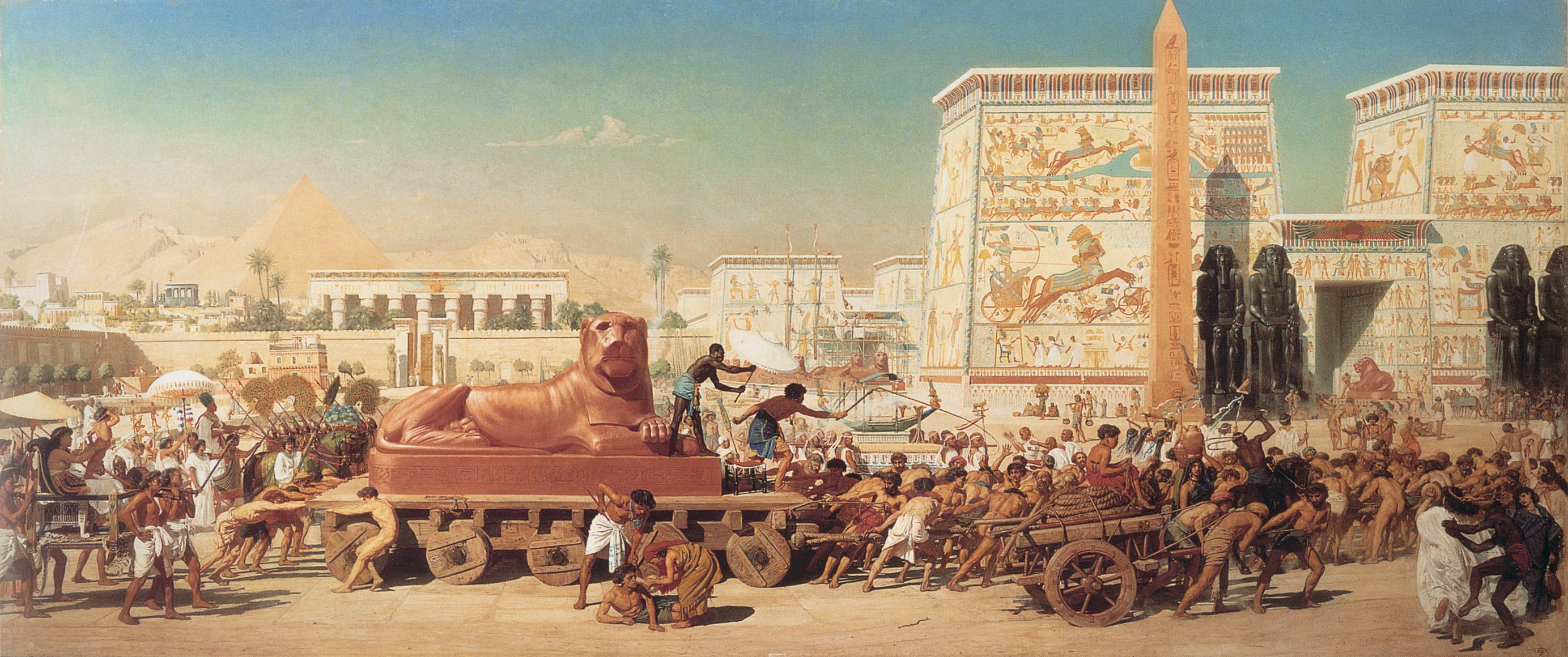 BFB210821 Israel In Egypt-1867-Edward-Poynter