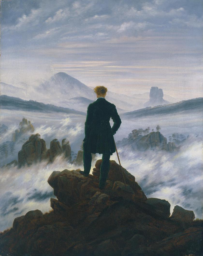BFB201018 Friedrich - Wanderer Above the Fog